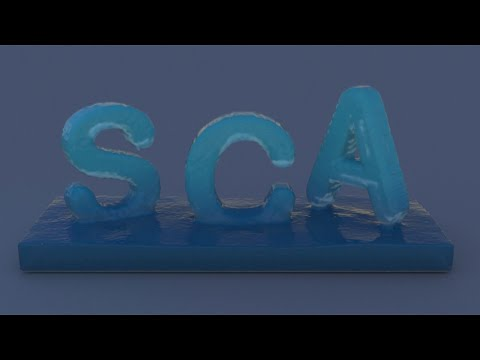 SCA2020: Particle-based Liquid Control using Animation Templates