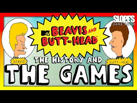 Beavis & Butthead: The History and The Games - SGR