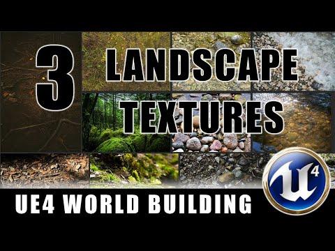 Landscape Textures - Building Worlds In Unreal - Episode 3
