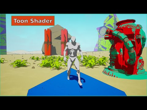 Toon Shader & Custom Shadow - UE4 Postprocess Tutorial