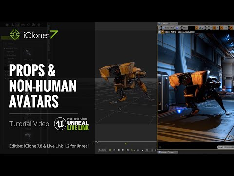 Unreal Live Link Plug-in Tutorial - Transferring Props & Non-human Avatars to Unreal Engine