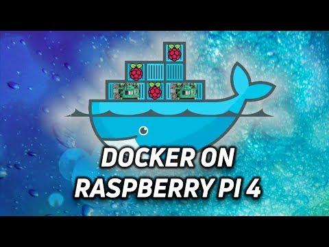 Intro to Docker using a Raspberry Pi 4