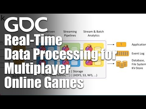 Real-Time Data Processing for Multiplayer Online Games