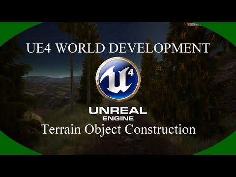 DPTV UE4 World Development Tutorial 11 (Terrain Object Construction)