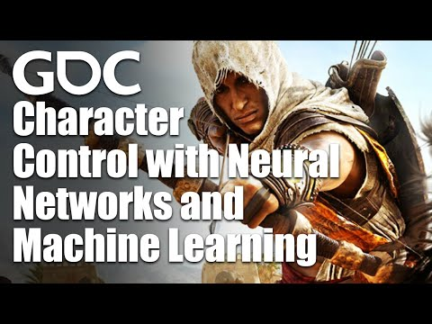 Character Control with Neural Networks and Machine Learning