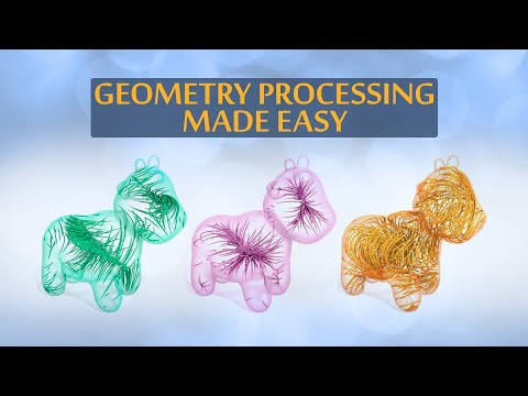This is Geometry Processing Made Easy