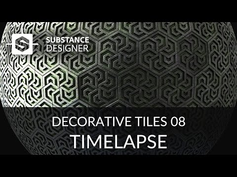 Substance Designer - Decorative Tiles 09