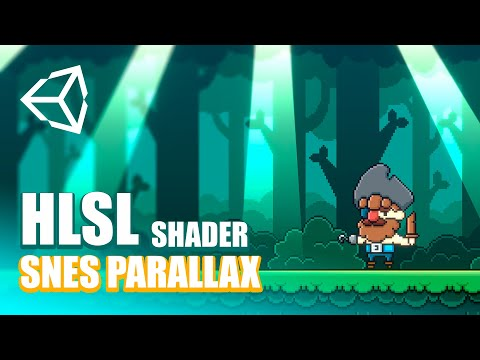 Snes Parallax Shader al Estilo DKC2   Unity Tutorial (Optimized) [2021]