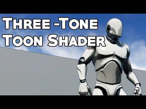 UE4 Tutorial: Three-Tone Toon Shader