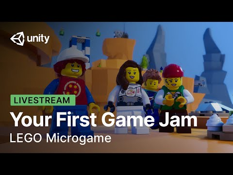 Your First Game Jam with LEGO | Livestream