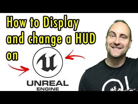 How to Display and change a HUD on Unreal Engine PART ONE