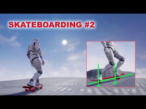 Unreal Skateboarding #2