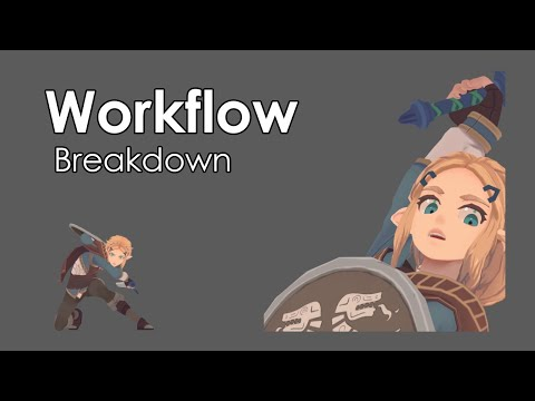 Workflow Breakdown - Attack Animation (Zelda)