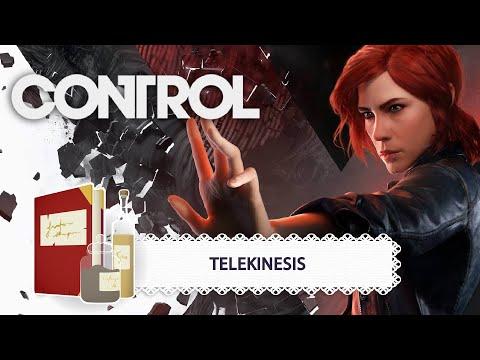 Game Dev Pantry | Control - Telekinesis | Retro-engineering