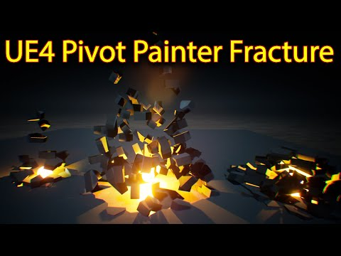 UE4 Pivot Painter Fracture | Files on Patreon