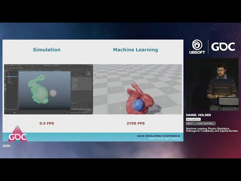 GDC 2020 - Machine Learning, Physics Simulation, Kolmogorov Complexity, and Squishy Bunnies