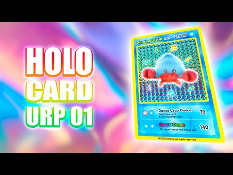 Holographic Pokemon Card Shader | Unity Tutorial | Ch 01
