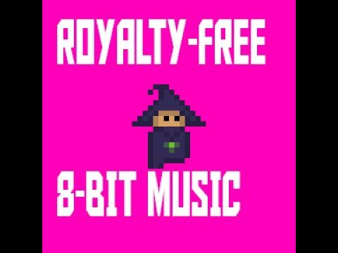 Royalty free 8 bit music for games, videos or channel