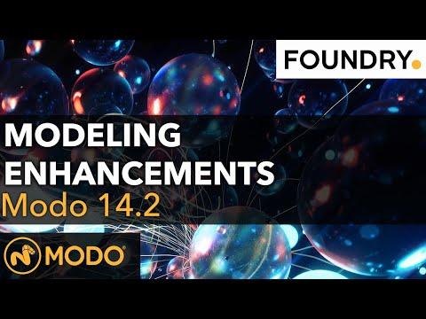 Modo 14.2 - Modeling Enhancements