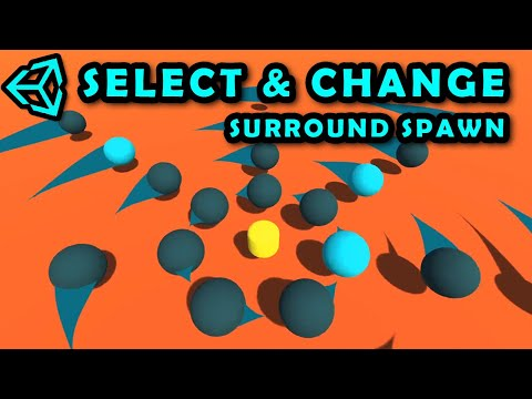 Change Material Of Surround Objects | Store Components Of Child Transforms & Change Their Values