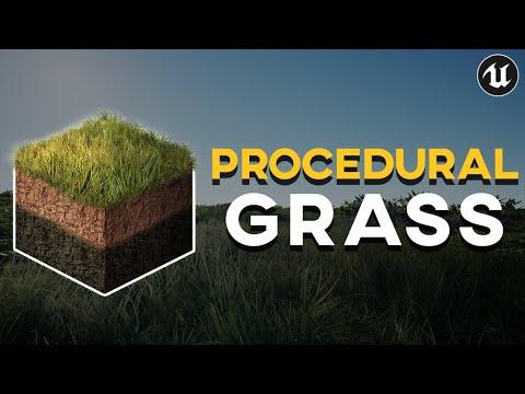 3 Levels of Procedural Grass in UE4 | UE4 Tutorial