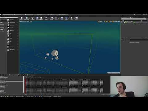 Making WARPSQUAD (Co-op Space Rogue-like) in Unreal Engine Live