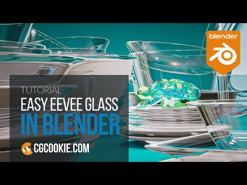Every Trick for Shading Glass in Eevee - Fundamentals of Blender Materials & Shading (Bonus Video)