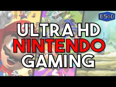 Nintendo Games at 6K Resolution | Zelda BOTW, Splatoon & Mario Kart 8 Upgraded