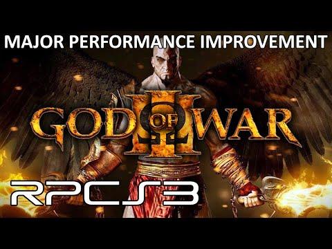 RPCS3 - God of War 3 Major Performance Improvement! (4K IR Gameplay)