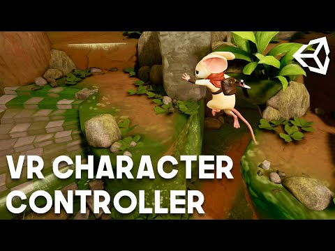 Creating a VR Character Controller using Unity
