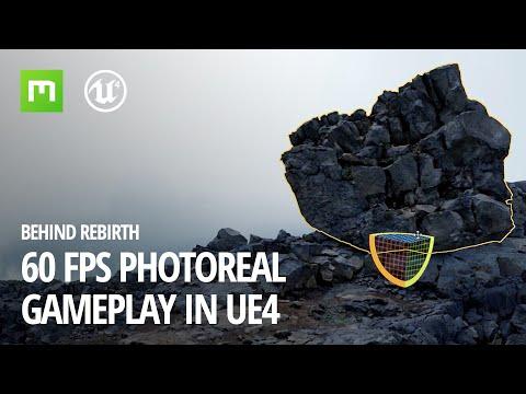 Behind Rebirth: 60 FPS photoreal gameplay in UE4
