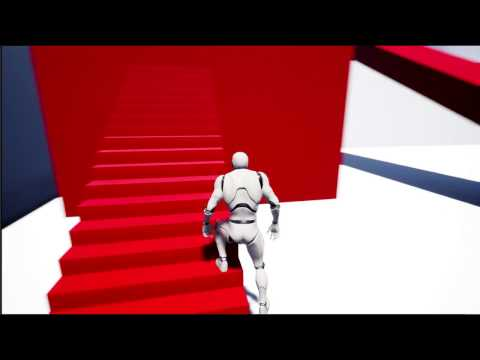 UE4 Advanced IK Foot Placement System (WIP)