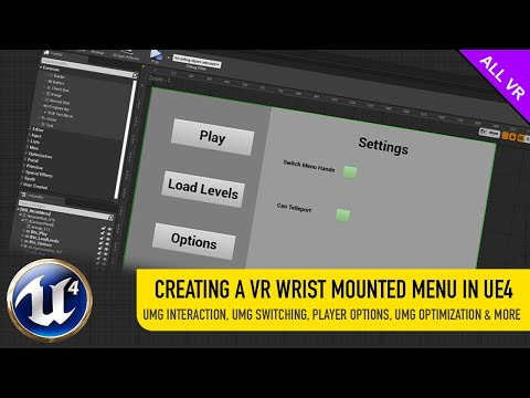CREATING A VR WRIST MOUNTED MENU IN EU4 USING UMG
