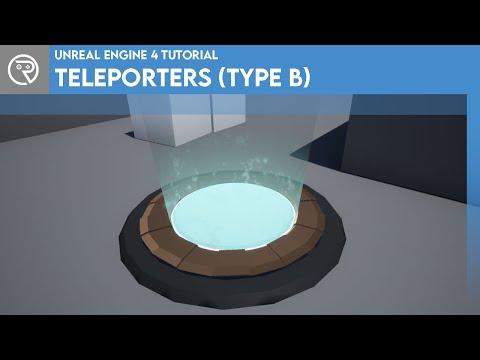 Unreal Engine 4 Tutorial - Teleporters (Type B)