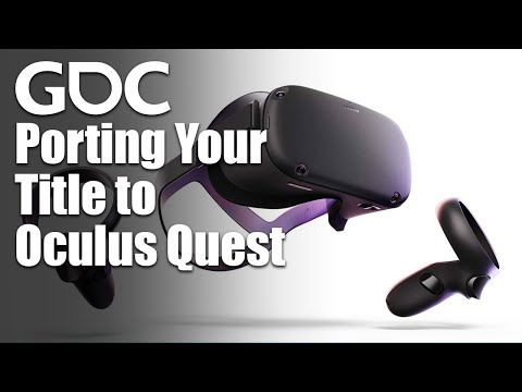Porting Your Title to Oculus Quest